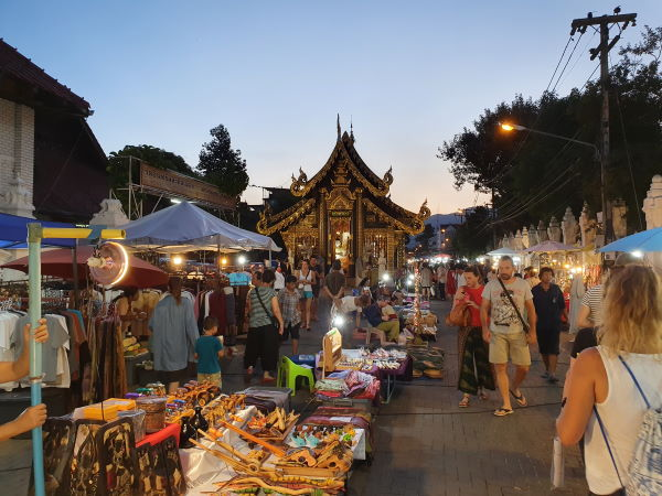 Sunday Night Market Chiang Mai