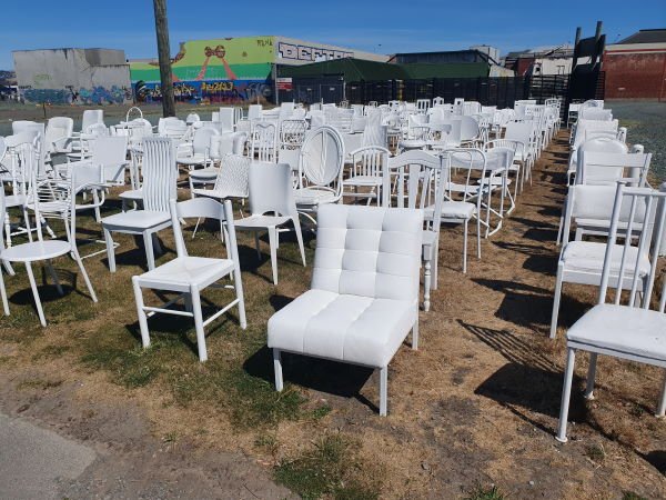 185 White Chairs Monument